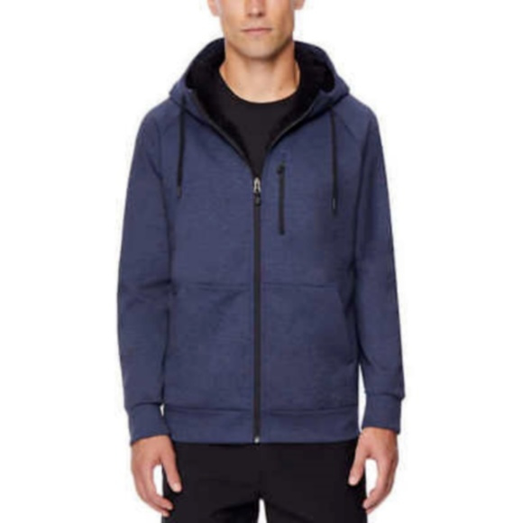 32 Degrees Other - 32 Degrees Men's Navy Fleece Tech Hoodie